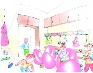 Kindergarten_Garderobe