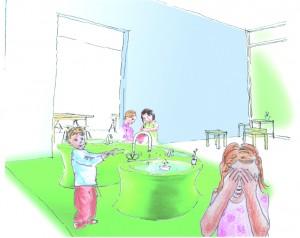 Kindergarten_Wasserspiel